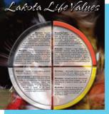 Lakota Life Values poster